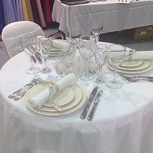 Elegant Cutlery with AFC Banquet Crockery