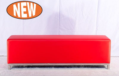 Studio Bench Ottoman - Red