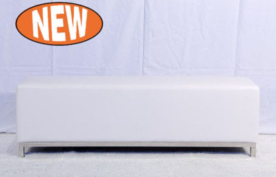 Studio Bench Ottoman - White